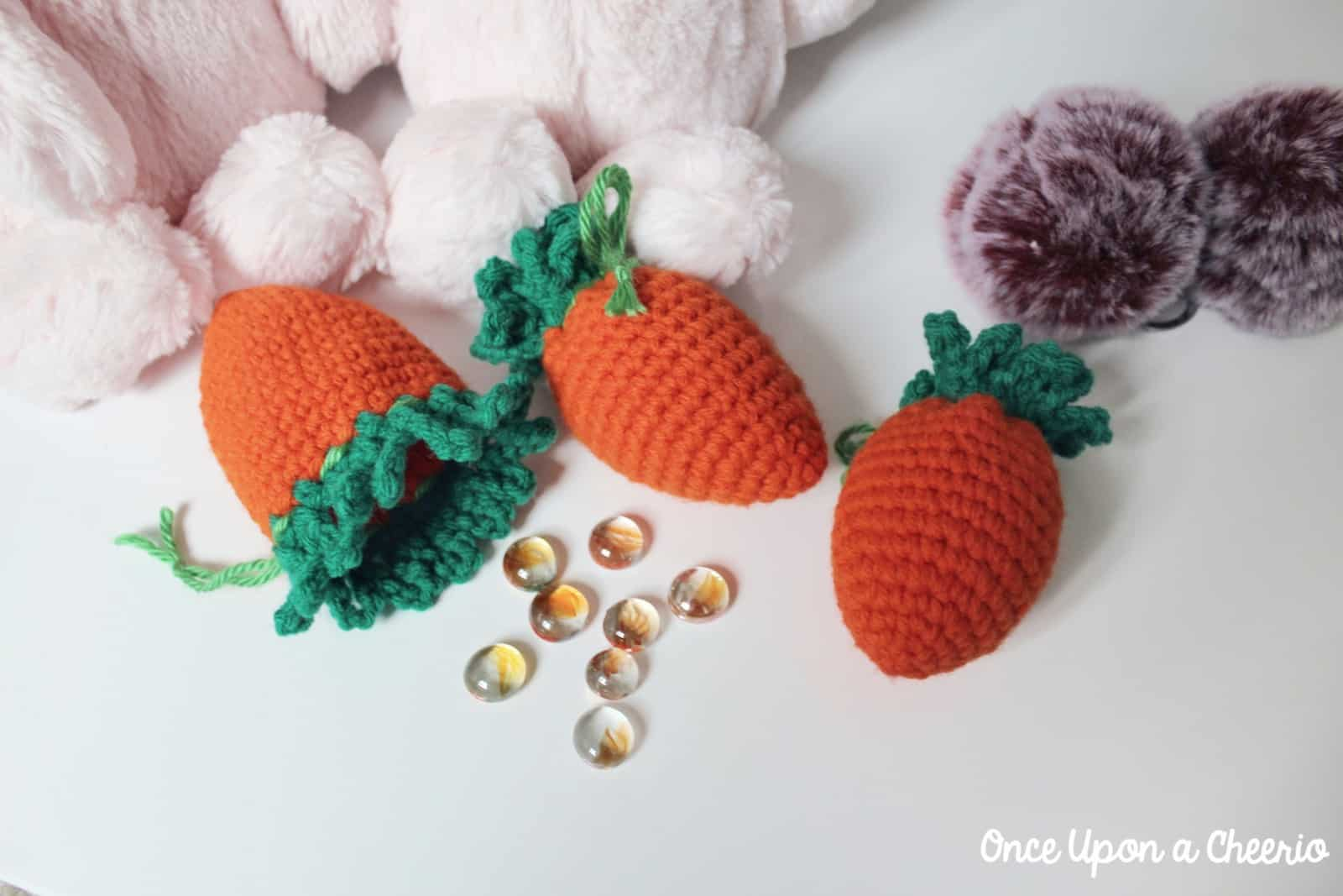Carrot Easter Egg Cozies FREE Crochet Pattern