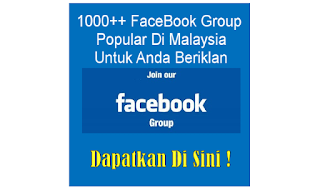 1000++ Group FaceBook Iklan