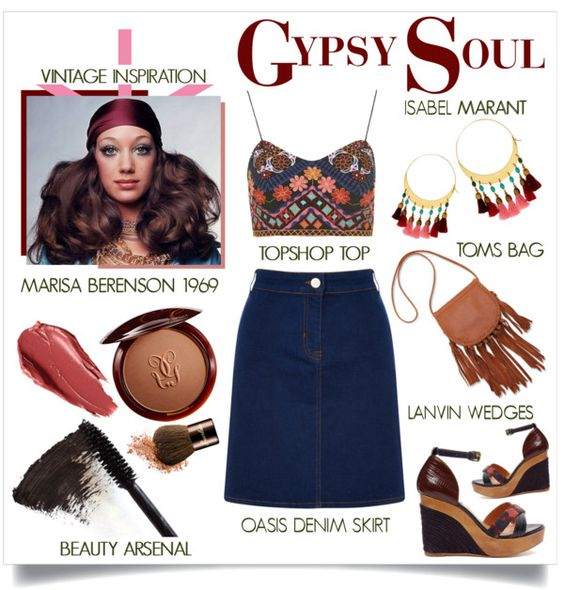 Vintage Inspiration - Gypsy Soul www.toyastales.blogspot.com #ToyasTales