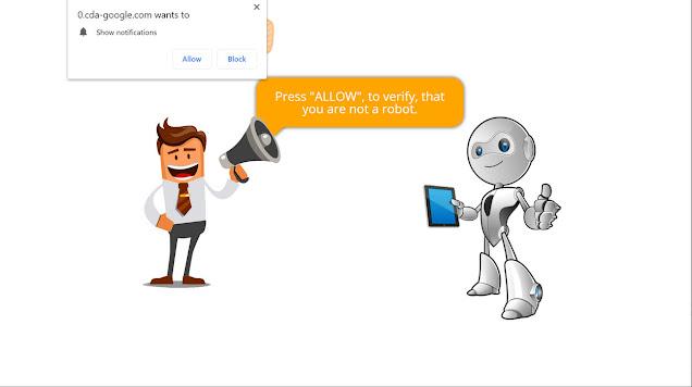 Cda-google.com pop-ups