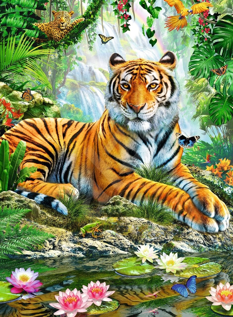 The preservation of tiger will blame human transpassing their territory.