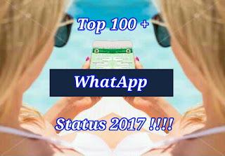 Top whatsapp status 2017