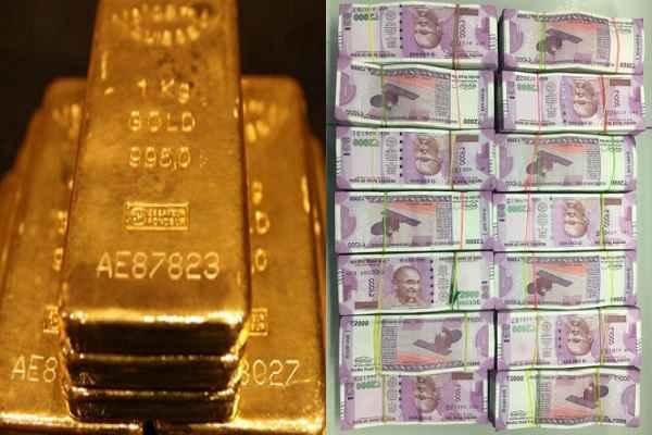बड़ी खबर, नवी मुंबई पुलिस ने पकड़ लिए 35 लाख रुपये के नए नोट और दो किलो सोना