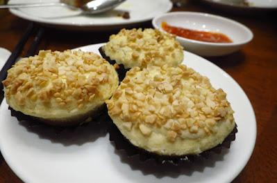 Xin Cuisine, bbq pork puffs