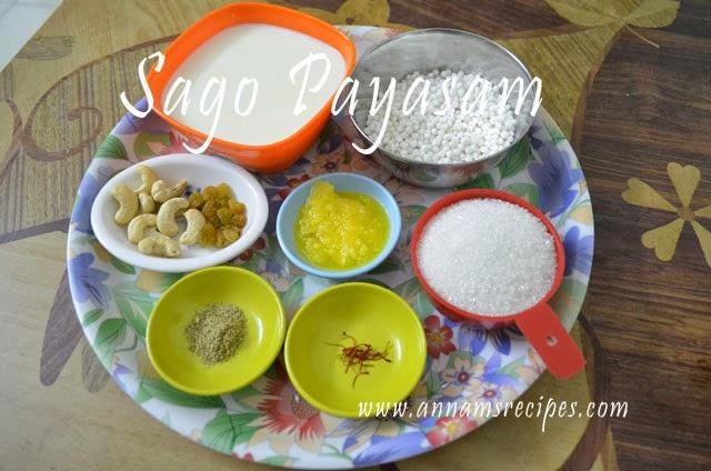 Sago Payasam