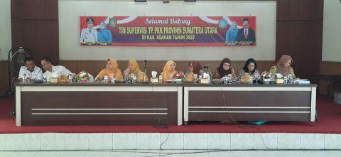 TP PKK Sumatera Utara Kunjungi Kabupaten Asahan