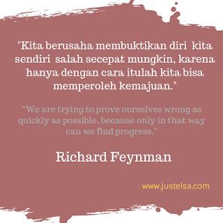 Quotes Motivasi Kata Bijak Richard Feyman Dan Marie Curie