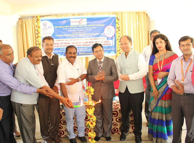 Justice C.G. Hungund inaugurates specialized skill development program by Air India SATS to empower rural women