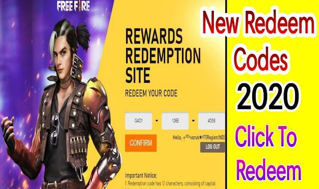 Free Fire Full list of redeem codes in 2020