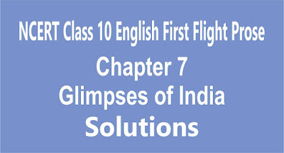 Chapter 7 Glimpses of India