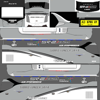 Download Livery Arjuan XHD Bus Sundiro Tungga Jaya