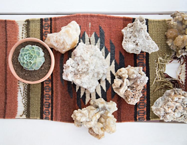 minerales-alfombra-kilim-planta-crasa-bohemio-boho-chic