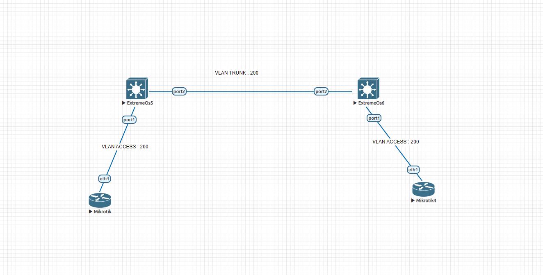 Setting Dasar VLAN Basic di Extremex OS