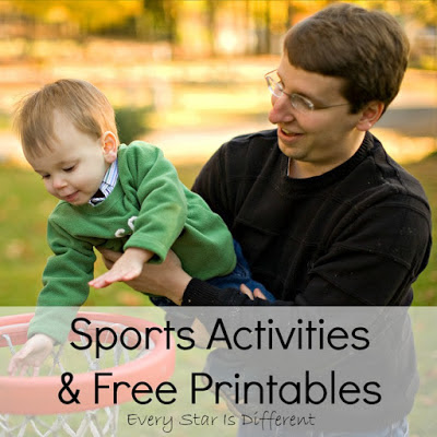 Sports Activities & Free Printables