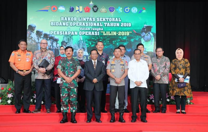 Polda Kepri Gelar Rakor Lintas Sektoral Bidang Operasional dan Pengamanan Natal