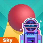 تحميل لعبة Rolling Sky للأيفون والأندرويد APK