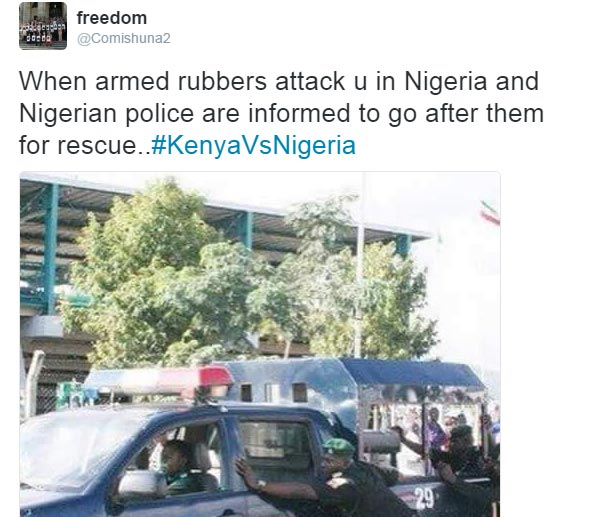 #KenyaVsNigeria day 3: Kenyans are roasting Nigerians again o