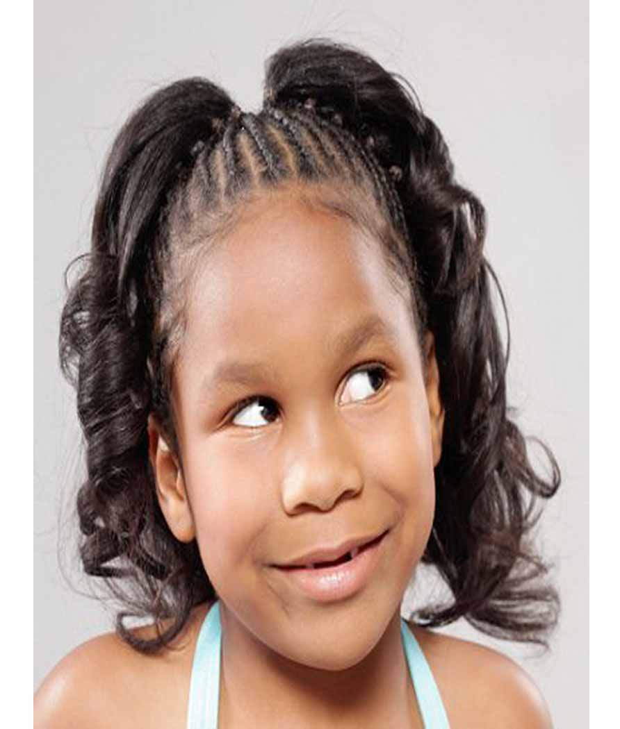 Cute Braided Hairstyles for Black Girls ~ trends hairstyle