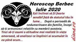Horoscop iulie 2020 Berbec