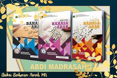 Buku Teks Muatan Pelajaran Bahasa Arab Madrasah Tsanawiyah (MTs) Tahun 2019