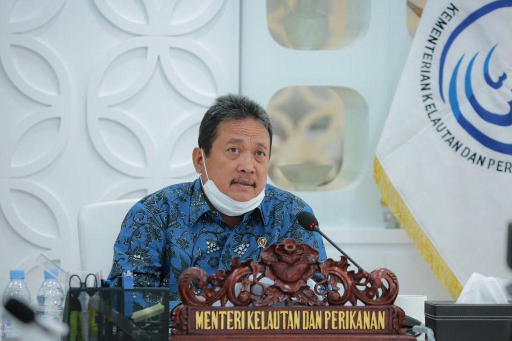 Dicecar Soal Ekspor Benur dan Cantrang oleh DPR, Menteri KKP Sakti Wahyu Trenggono Buka Suara