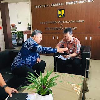 Normalisasi Batang Lembang, Wako Solok Audiensi dengan Dirjen SDA Kemen PUPR