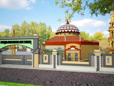 desain final masjid raya abu bakar ash-shiddiq gca bandung
