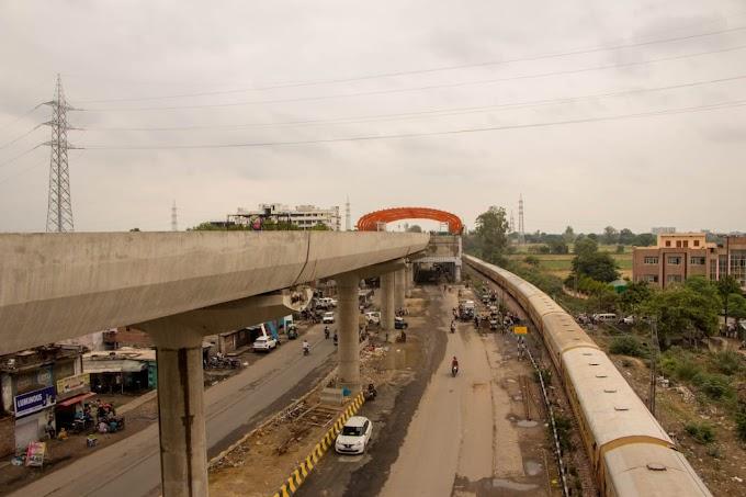 कानपुर मेट्रो : SPM मेट्रो स्टेशन के पास दूर हुई इलेक्ट्रिक लाइन की बाधा