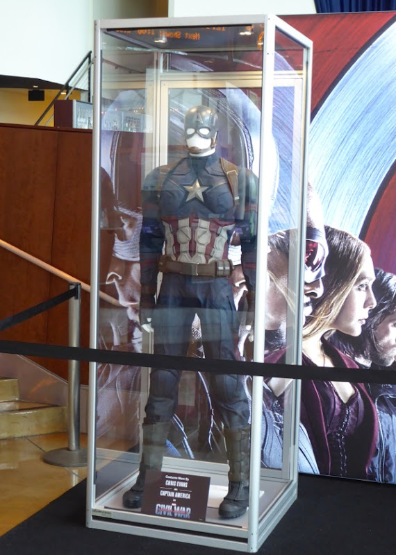 Original Captain America Civil War film costume