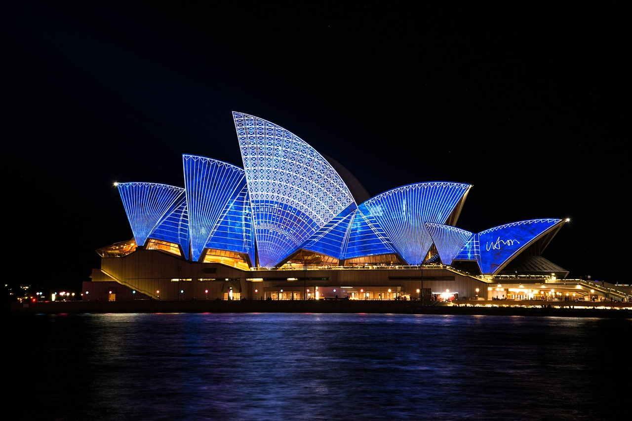 opera casa sydney australia teatro