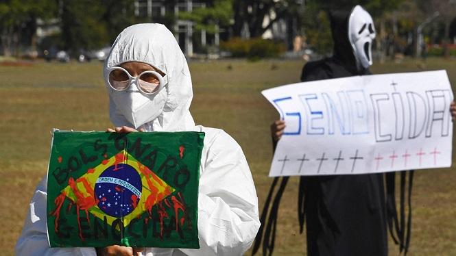 Brasil: es crítica la situación hospitalaria en las cuatro sedes de la Copa América
