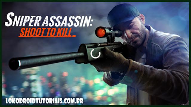 Sniper Assassin 3D apk mod DINHEIRO INFINITO (Game de tiro)
