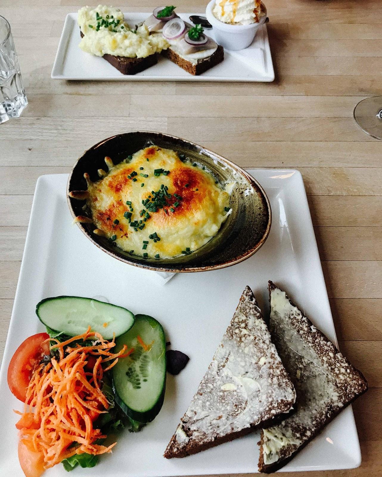 dinner at Loki in Reykjavik travel blog