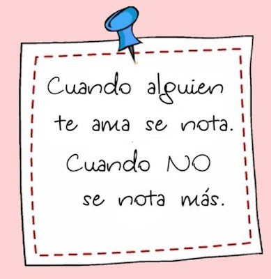 post it con mensaje de amor