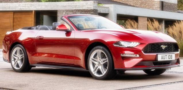 2020 Mustang Ecoboost Premium Automatic Convertible