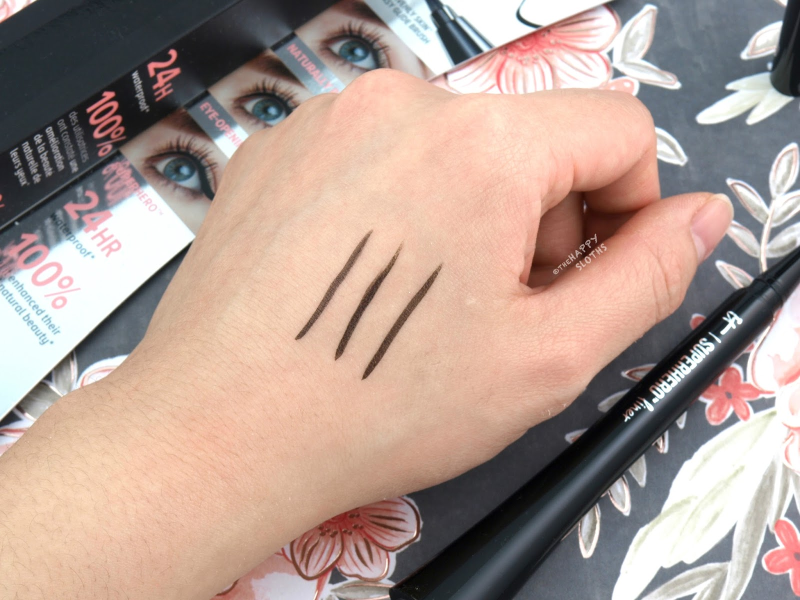 IT Cosmetics Superhero Liner: Review and Swatches
