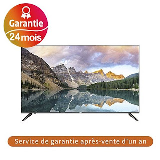 "UKA 32"" LED HD TV - USB - HDMI - Haier Fabricant- LE32K8000T- Noir"