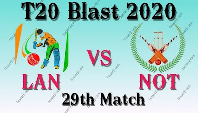 Who will win LAN vs NOT 29th T20 Match