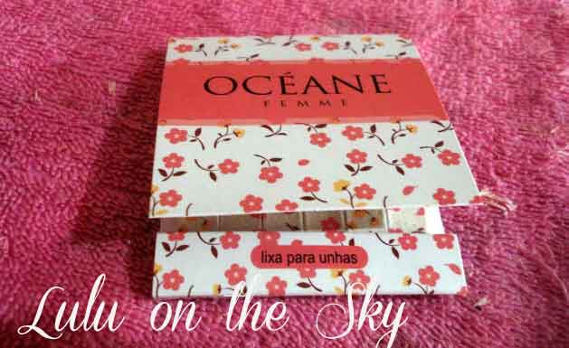 Mini lixas de unha  Océane Femme - blog luluonthesky