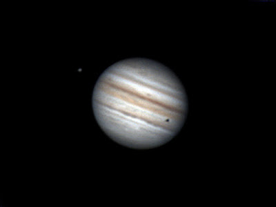 Júpiter, Gaminedes i ombra d'Europa   28/07/2021