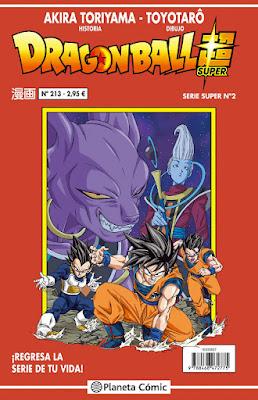 COMIC - Dragon Ball Super Serie Roja nº 213   (Planeta - 11 Abril 2017)  Edición Española   COMPRAR ESTE COMIC EN AMAZON ESPAÑA