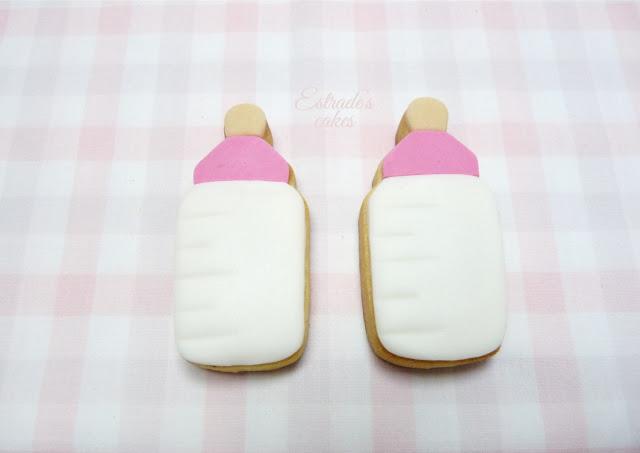galletas bebe o bautizo con fondant - 3