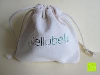 Säckchen: Cellubelle - Die Anti-Cellulite Saugglocke zur Vorbeugung und Bekämpfung von Cellulite und Orangenhaut (Aqua/Türkis)