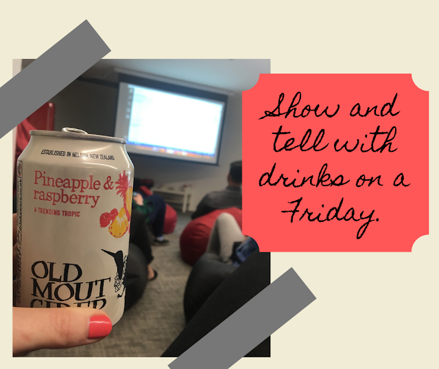 Show and tell with drinks - Northcoders