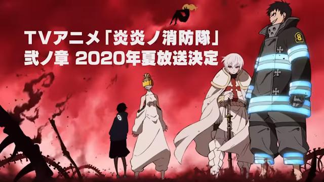 Musim kedua untuk anime Fire Force diumumkan rilis pada summer 2020!!