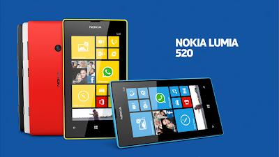 Harga Nokia Lumia 520