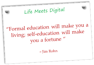 quote on formal and self education