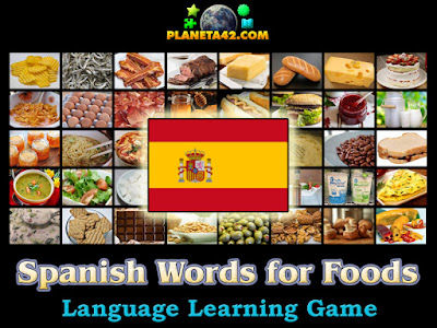 Испански Думи за Храни Игра