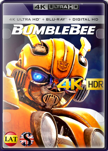 Bumblebee (2018) 4K UHD HDR LATINO/INGLES
