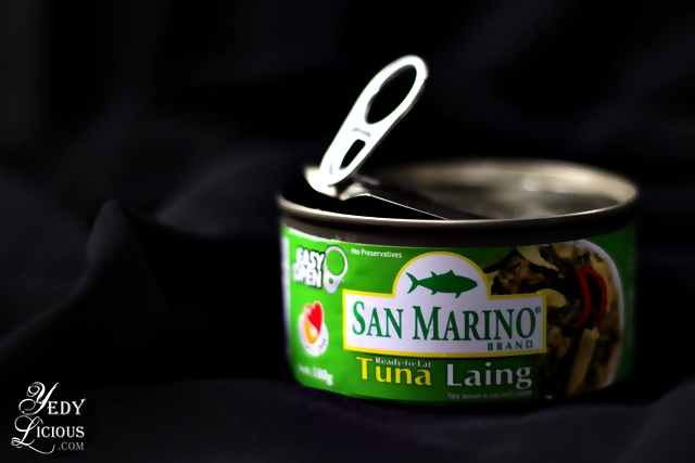 Easy Open Can of San Marino Canned Goods
